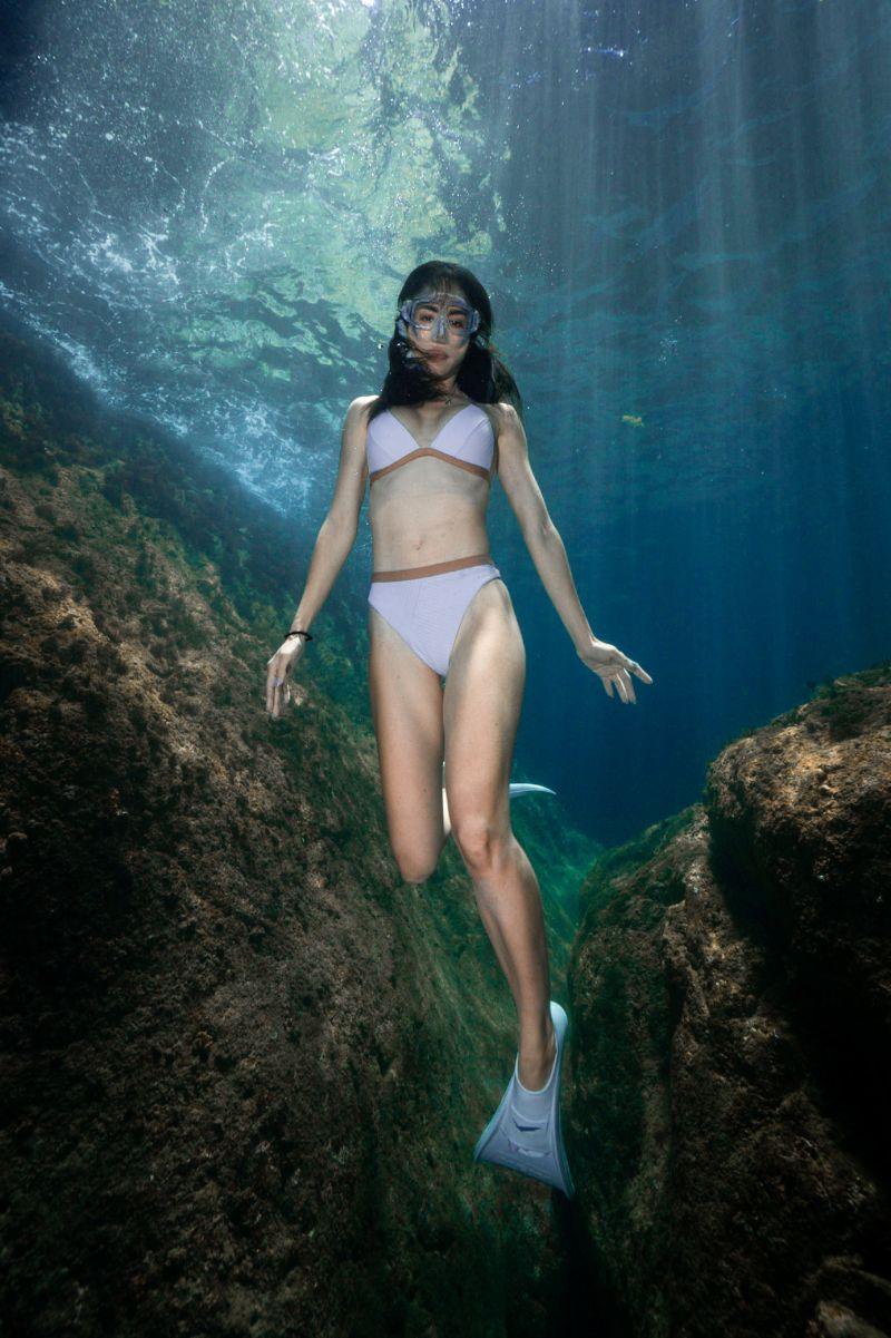 ▲雷艾美迷上自由潛水。(圖/三立都會台提供)