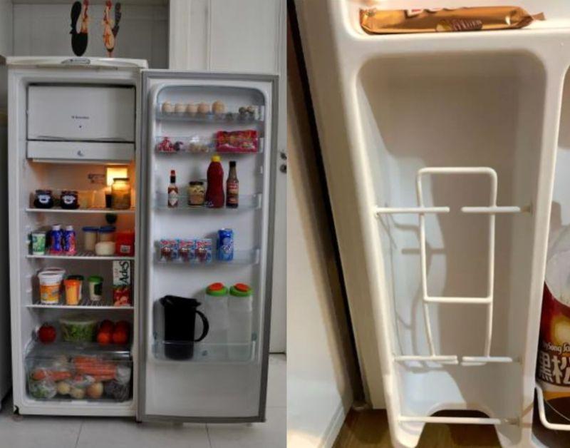 ▲網友討論冰箱裡頭「這格」要幹嘛。(圖/pixnio、翻攝Dcard)