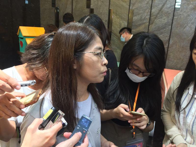 ▲國教署副署長許麗娟表示,各校的補助依照班級數、人數進行劃分。(圖/記者黃仁杰攝,2020.07.21)