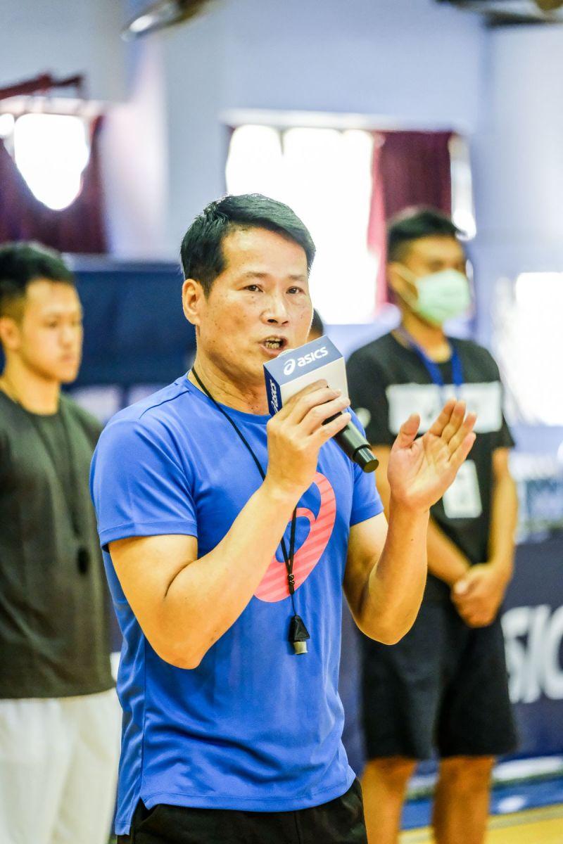 ▲2020亞瑟士籃球之星訓練營總教練邱大宗(圖/亞瑟士提供)