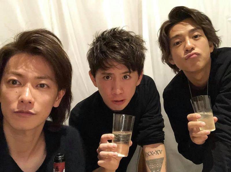 ▲佐藤健(左起)Taka、三浦翔平跟三浦春馬很要好。(圖/翻攝Twitter)
