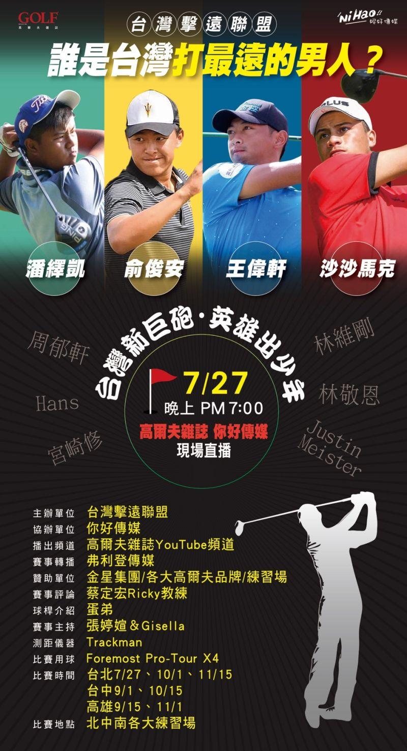 ▲「2020台灣擊遠巡迴大賽」開幕戰將從7月27日登場,舉辦全台巡迴塞,決定誰才是「正港」台灣最遠的男人、女人、球隊與社團。(圖/主辦單位提供)
