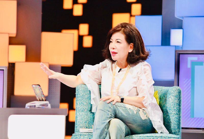▲資深媒體人陳文茜上節目《36題愛上你》。(圖/公視提供)