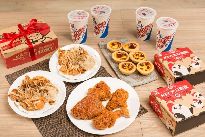 ▲一個套餐5種滿足,最吸睛的就是兩大限量隱藏版新式炸雞同台登場。(圖/NOWnews攝)
