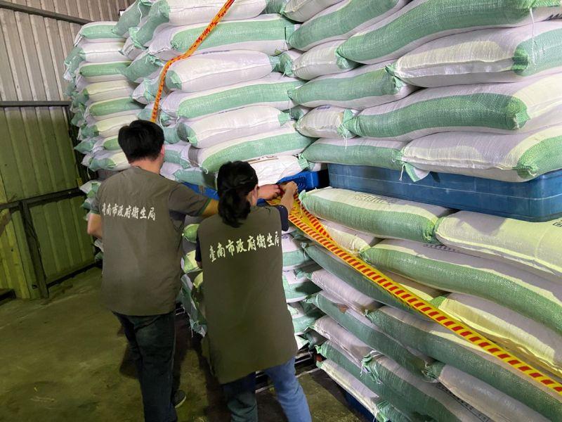 台南不法業者冒用台糖商標販賣低價砂糖 遭南檢查獲