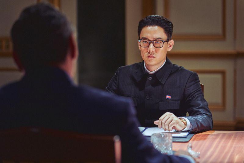 ▲柳演錫片中飾演北韓領導人。(圖/甲上)