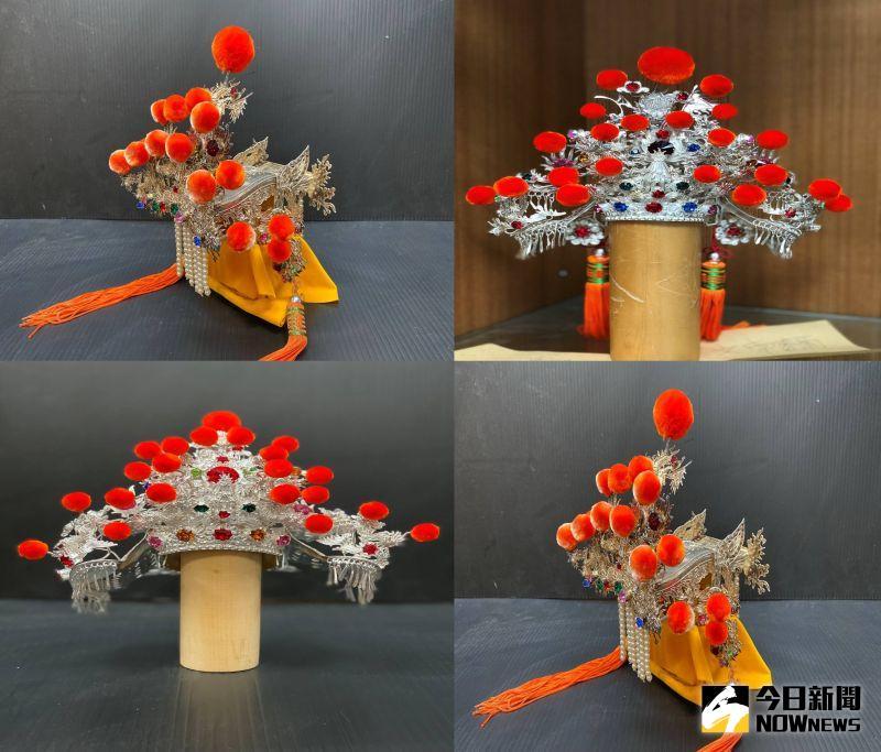▲各種銀帽。(圖/記者陳聖璋攝,2020.07.23)