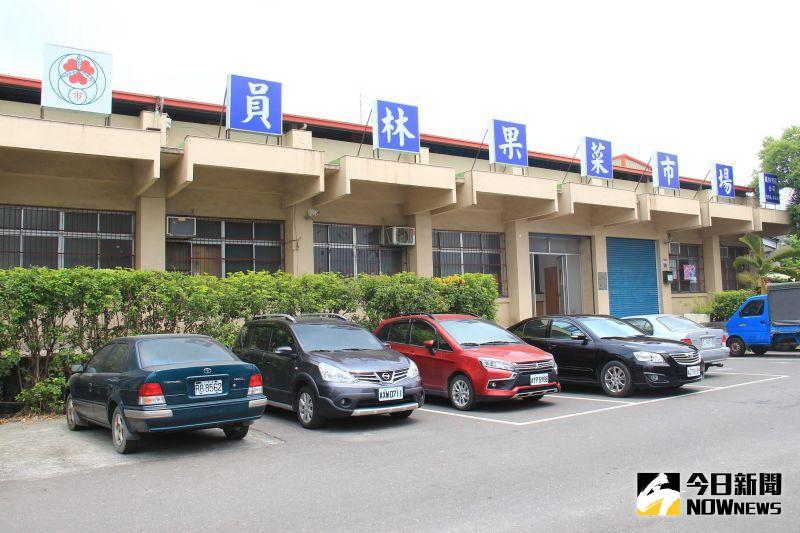 ▲員林市公所有意進行原地重建為新果菜市場大樓。(圖/記者陳雅芳攝,2020.07.23)