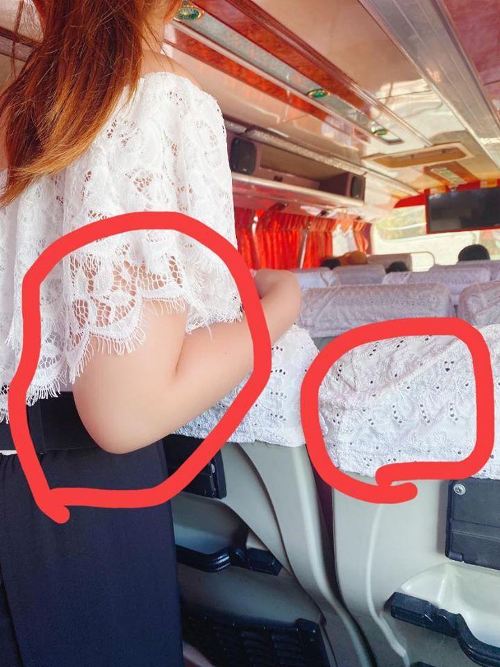 ▲男網友發現自己老婆的衣服和椅背撞衫,讓全場笑翻。(圖/翻攝自爆廢公社二館臉書)