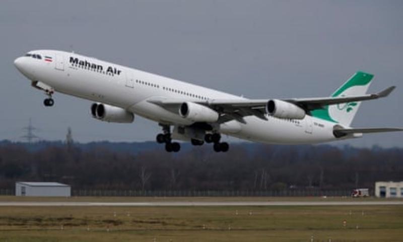 ▲伊朗客機。資料照。(圖/翻攝自英國衛報)
