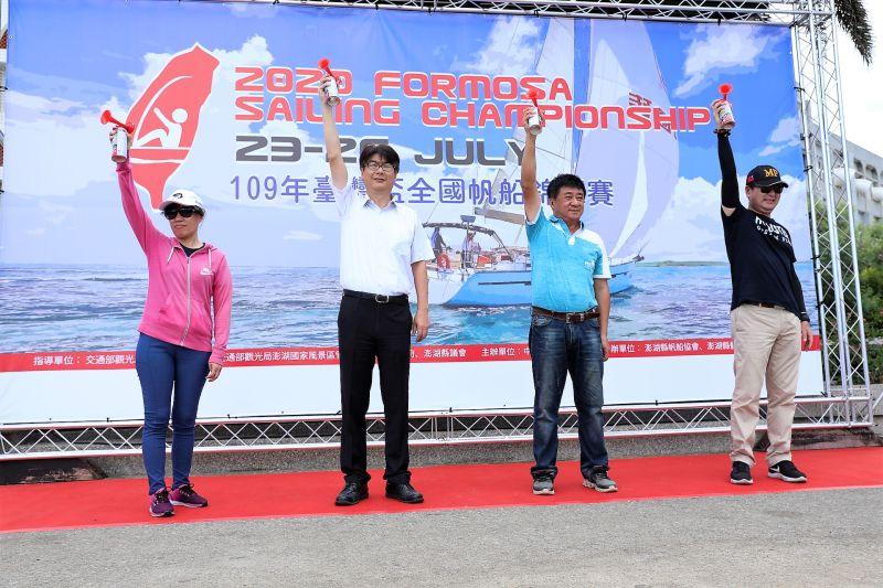 臺灣盃全國帆船錦標賽好手齊聚澎湖