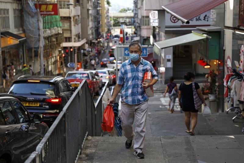 ▲香港新冠肺炎疫情失控。(圖/美聯社/達志影像)