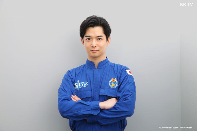 ▲千葉雄大飾演太空人。(圖/KKTV)