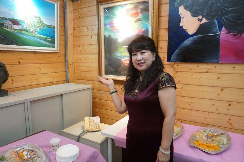 療癒系畫家黃琯予 成立藝術故事館散播美學能量