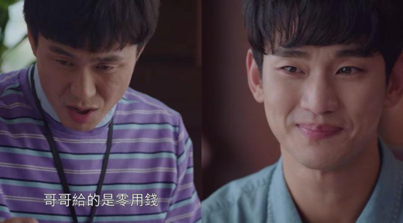 ▲▼劇中,吳政世(上圖左)決定當個好哥哥,也願意接納徐睿知。(圖/Netflix)