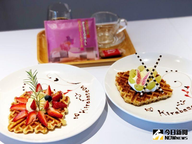 ▲ 精品咖啡、熱茶,搭配卡士達草莓鬆餅等各式甜點,就是完美的甜心下午茶。(圖/記者陳美嘉攝,2020.07.26)