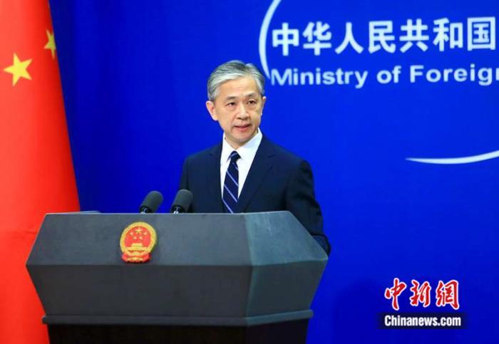 ▲中國外交部發言人汪文斌。(圖/翻攝自中新網)
