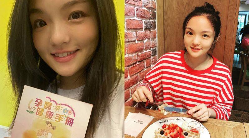 ▲徐佳瑩已懷孕5個月。(圖/徐佳瑩臉書)