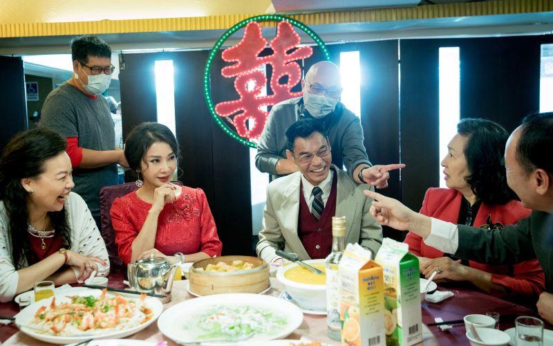 ▲陳美鳳(左)演《三春記》展現精湛演技。(圖 / 民視提供)
