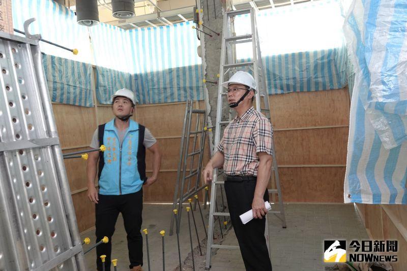 影/提升建築安全 鹿港鎮第一公有零售市場<b>耐震補強</b>開工