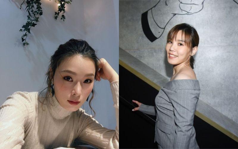 ▲景孝儒(左)與幫唱導師李佳薇(右)合唱《路過人間》。(圖/景孝儒臉書、資料照)