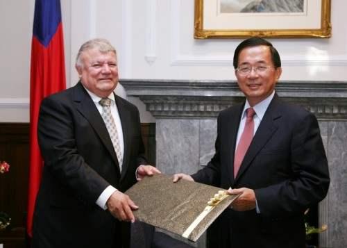 尼加拉瓜駐台大使遭免職!外交部:任期屆滿調動