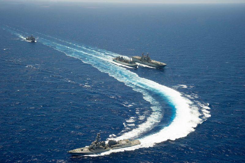 兩年一度的環太平洋軍演是美國在太平洋地區舉辦最大規模的多國海上聯合演習。
