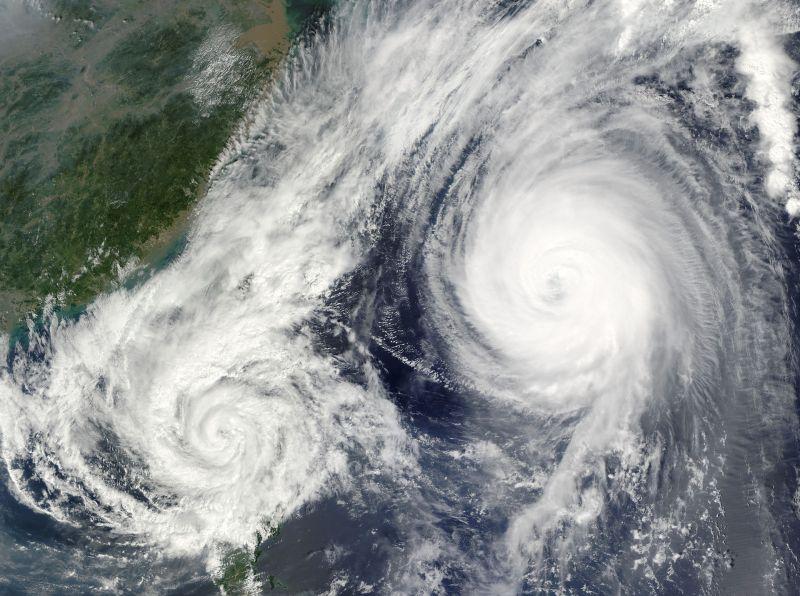 ▲若7月都沒有颱風,將創下日本1951年以來的紀錄。(示意圖/取自