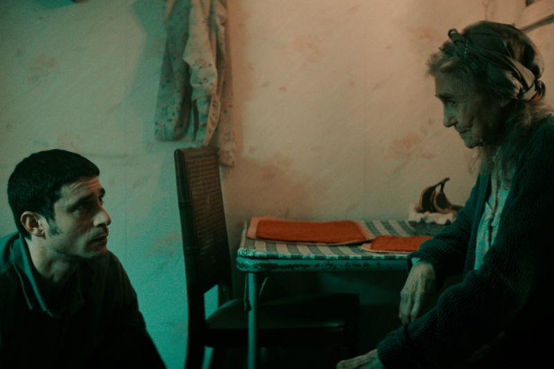 ▲戴夫戴維斯(左)與林恩科恩在片中有精彩對手戲。(圖/采昌)