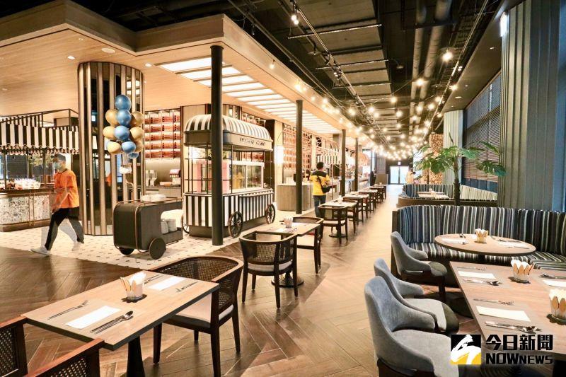 ▲自助餐廳「逸.市集」每日都有約百道菜色可選擇。(圖/記者陳致宇攝)