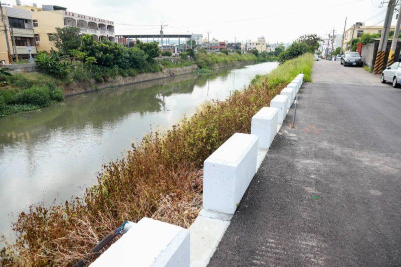 梧棲安良港大排護岸工程動土 給民眾安全生活