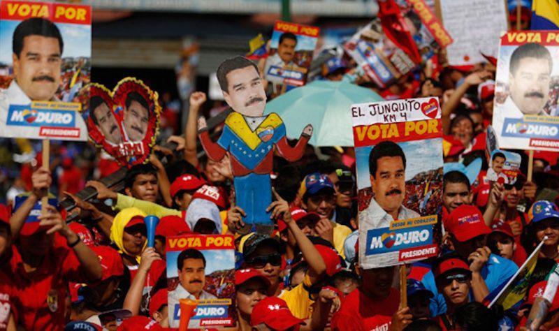 ▲2018年委內瑞拉選舉。(圖/翻攝自澳洲國際事務研究所AIIA)