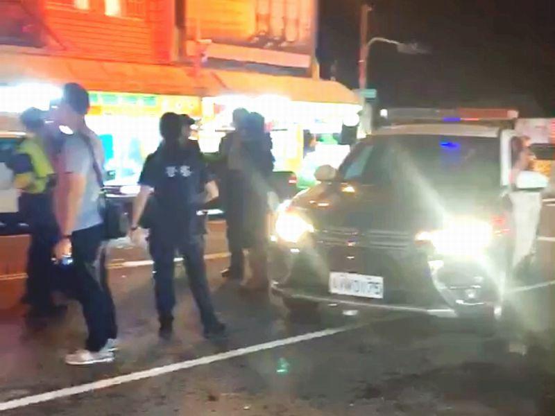 凌晨行車糾紛兩人肢體衝突 屏警嫌犯搜出毒品與刀械