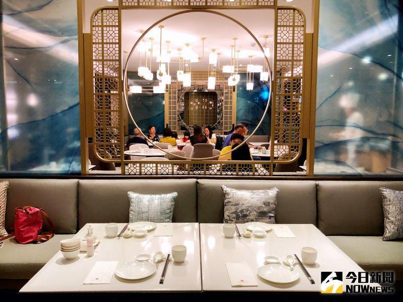 ▲漢來大飯店10樓餐廳全面的大整容,注入了許多時尚元素及新思維。(圖/記者陳美嘉攝,2020.07.30)