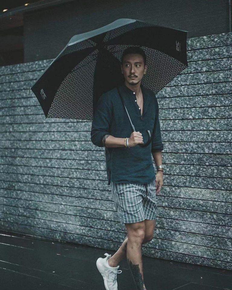 ▲王陽明五官俊美、身材高瘦、熱愛戶外運動,粉絲男女通殺。(圖/王陽明臉書)