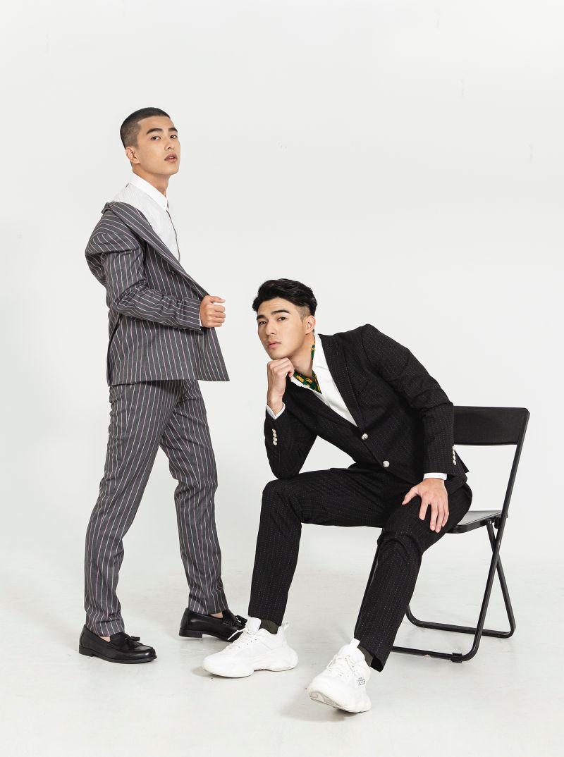 ▲《刻在你心底的名字》兩位男主角曾敬驊(左)、陳昊森。(圖/東昊)