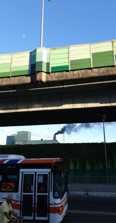 汐止排放黑煙