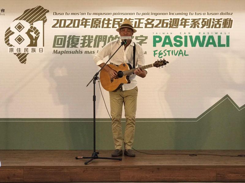 ▲曾經獲得金曲獎的歌手阿努・卡力亭・沙力朋安(Anu