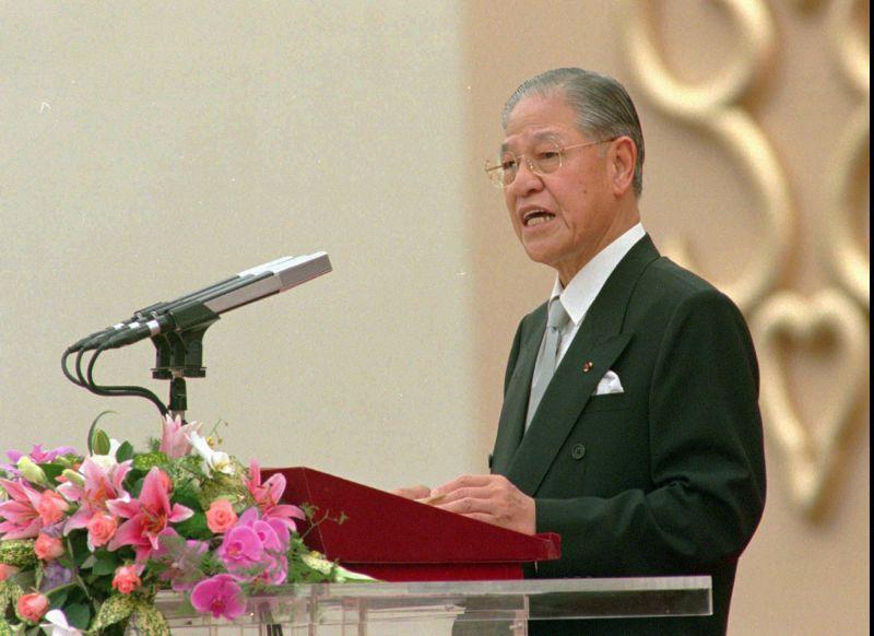 李登輝1996年出任首屆台灣民選總統