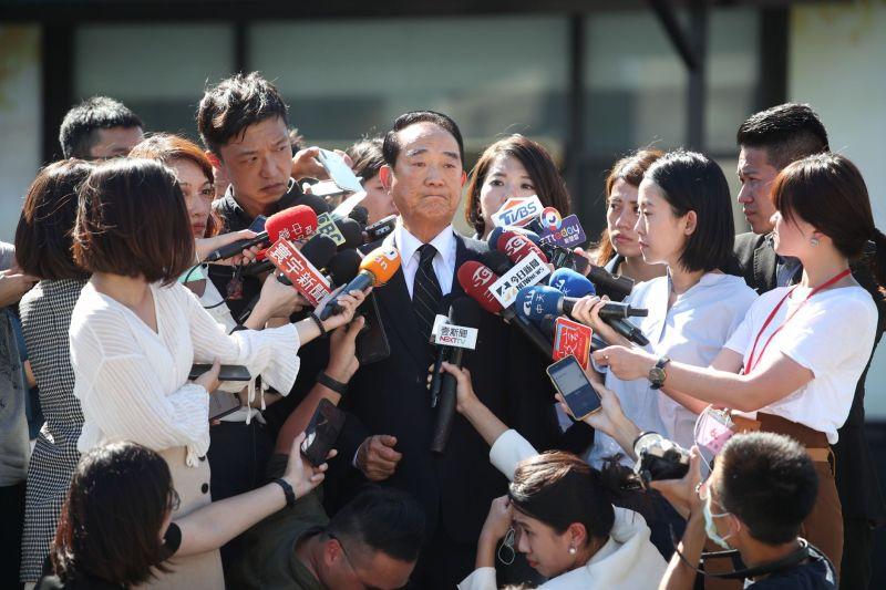 參加國慶大典有感 <b>宋楚瑜</b>:台灣別想在美中間謀弄獲利