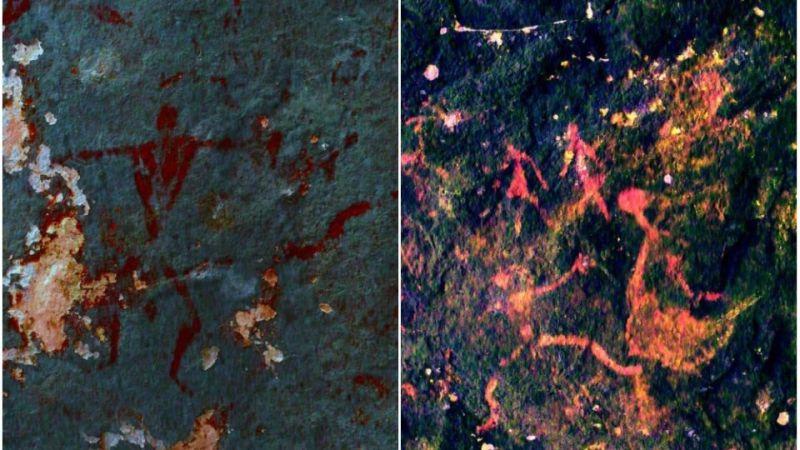 泰國洞穴接連出現神秘人形壁畫 考古學家估算至少3000年