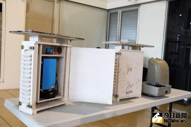 ▲環保局將在全縣26個鄉鎮市布建500台「微型空氣品質感測器」,讓民眾可以即使查詢空氣品質。(圖/記者陳雅芳攝,2020.07.31)
