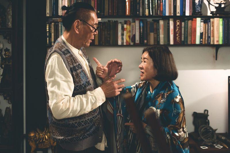 ▲龍劭華、吳秀珠主演《老姑婆的古董老菜單》。(圖