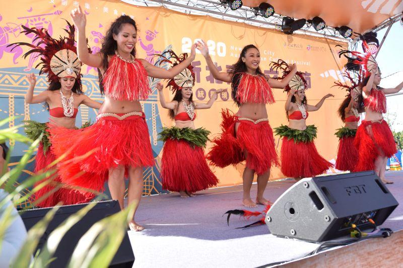 ▲新北市首度辦理以「南島語族」為主題的大型節慶「2020新北南島文化節」於今天(1)在新北考古公園開幕。(圖/新北市文化局提供)