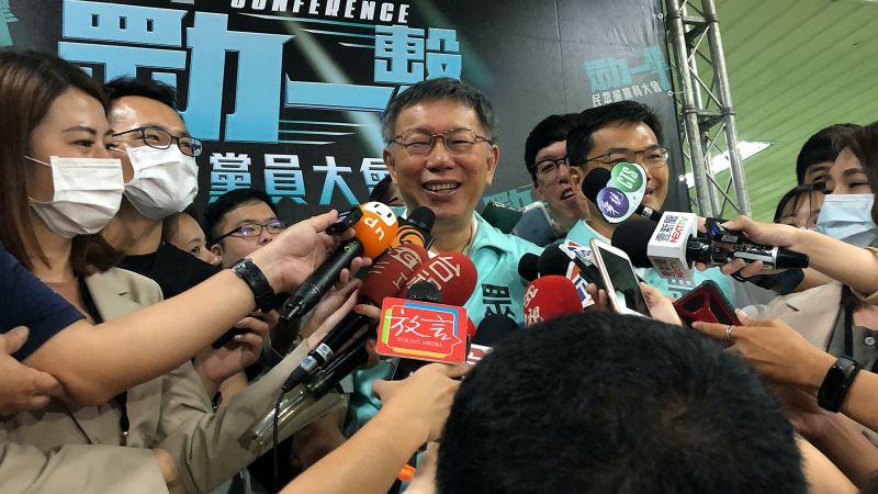 身兼台灣民眾黨主席的台北市長柯文哲,今天(2日)在參與黨員大會前接受媒體訪問,評論李眉蓁政見發表會表現,表示「還是要準備啦」。