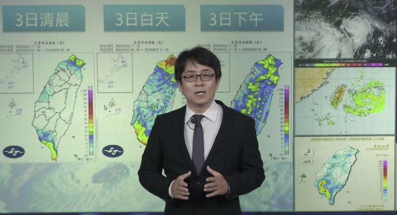 哈格比進逼!東北部、西部雨越晚越大 不排除發布陸警