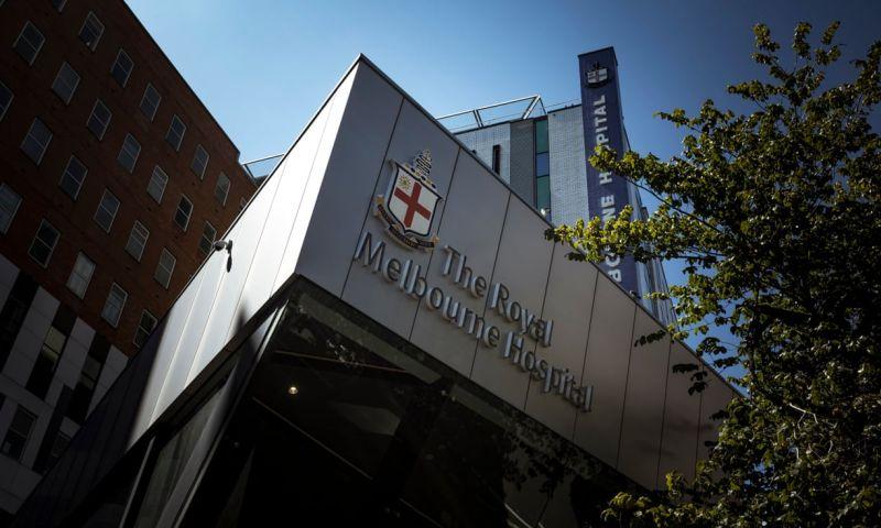 ▲皇家墨爾本醫院。(圖/翻攝自英國衛報)