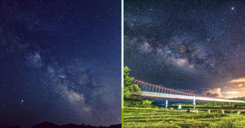 ▲屏東滿洲港口吊橋