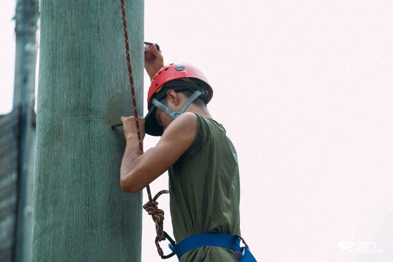 ▲橘子基金會今年攜手台灣外展教育發展基金會、荒野教育團隊「米亞桑戶外中心」及資訊圖表設計團隊「Re-lab」,邀約青年從腳下土地開始冒險。(圖/橘子基金會提供)