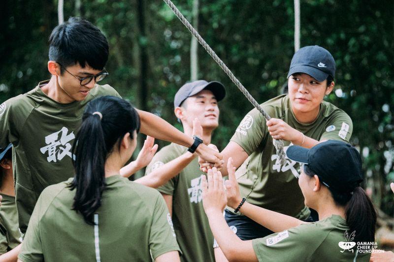 ▲完成必修訓練後,學員可選擇「體感冒險」或「腦內冒險」進階主題。(圖/橘子基金會提供)